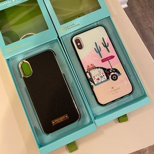 :) kate spade 2 iphone X cases
